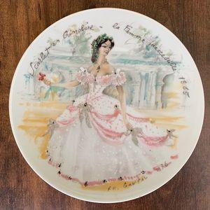 Porcelain de Limoges France.Plate # GP579